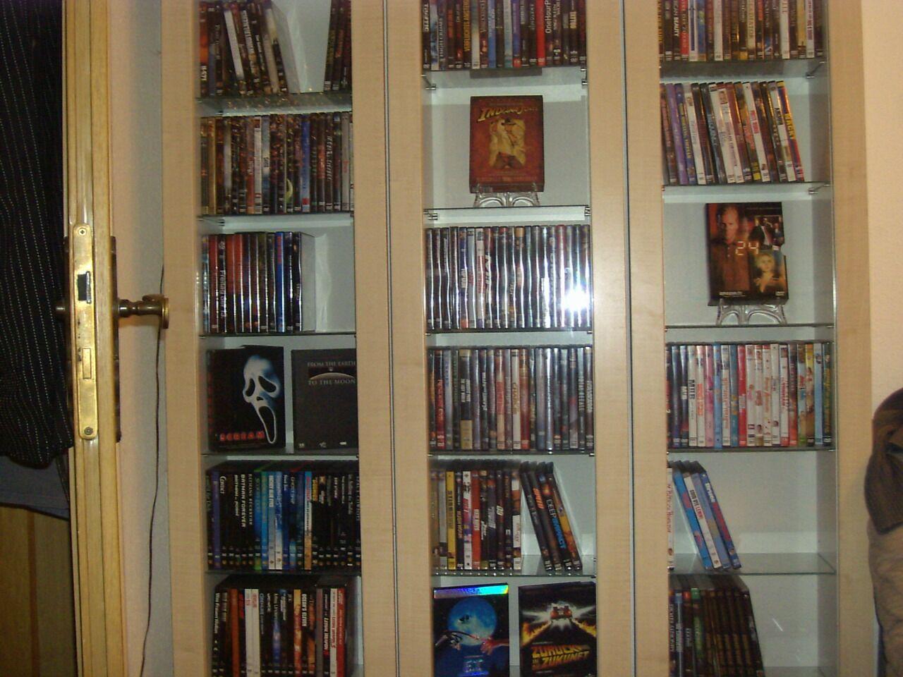 Verkaufe meine DVD Sammlung -